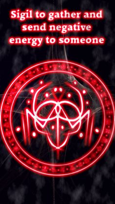 Sigil to gather and send negative energy to someone