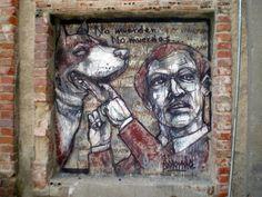 Borondo - Street Artist #StreetArt #mural #graffiti