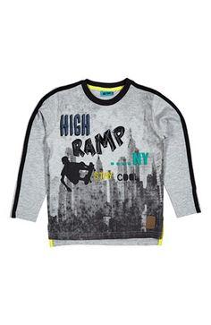 Mega cool Me Too T-shirt Agit  Gråmeleret Me Too T-shirt til Børn & teenager i fantastisk kvalitet