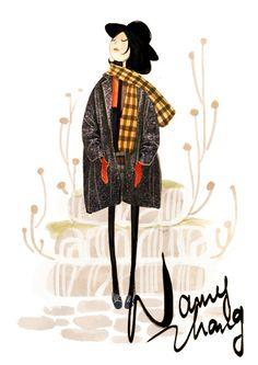 nancy zhang illustrations - Google Search  (Nancy Zhang not wang)
