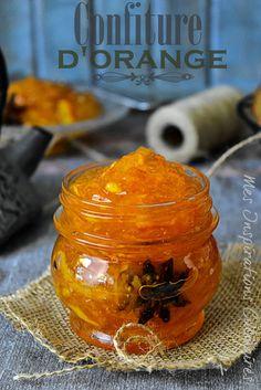 recette Confiture d'oranges facile et rapide / orange marmelad