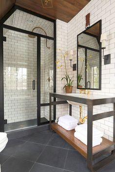 Aime céramique et porte de douche