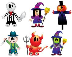 Halloween Creepy Collection PNG Cliparts