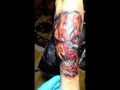 Colour Tattoo. Wolverine Tattoo Wolverine Tattoo, Colour Tattoo, Watercolor Tattoo, Tattoos, Tatuajes, Tattoo, Watercolor Tattoos, Japanese Tattoos, Tattoo Illustration