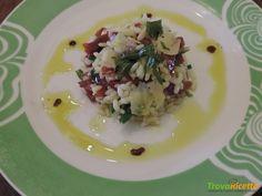 Riso freddo con bresaola rucola e scaglie di parmigiano  #ricette #food #recipes