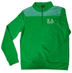 Kappa Delta Shoulder Patch Quarter Zip www.sassysorority.com. #sororitygift #love #quarterzip #pullover #kappadelta #kd #gogreek #monogram #sororitymerchandise #preppy