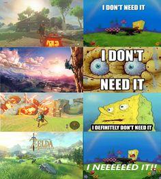 Legend of Zelda Breath of the Wild reaction http://ift.tt/2fSRPmO