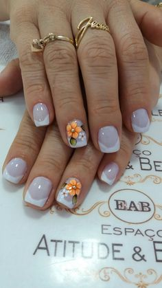French Tip Acrylic Nails, French Nails, Pedicure Designs, Nail Art Designs, Summer Toe Nails, Flower Nail Art, Pretty Nail Art, Dream Nails, Beautiful Nail Designs