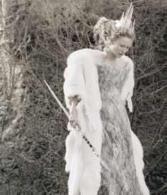 Tilda Swinton as the White Witch in The Chronicles of Narnia: The Lion, the Witch and the Wardrobe