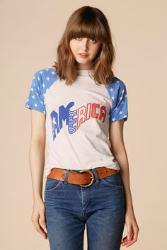American Dream 70's Raglan