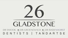 LOGO DESIGN by Elmien de Wet for Dentists at 26 on Gladstone, Durbanville.