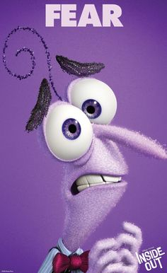 Do you ever look at someone and wonder what is going on inside their head? Disney Pixar's original new film Inside Out ventures inside the mind to find out Disney Inside Out, Film Inside Out, Inside Out Poster, Inside Out Characters, Inside Out Fear, Fear Inside Out Costume, Disney Pixar, Animation Disney, Art Disney