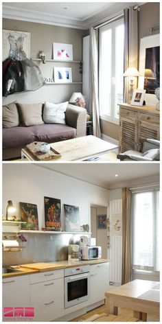 #Charming and #artsy 1-bedroom #furnished #apartment in the #18th #arrondissement