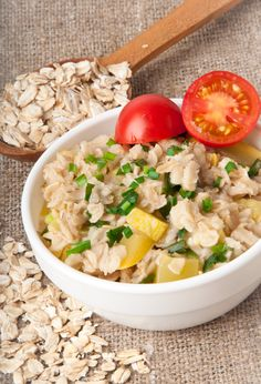 Oatmeal, a whole grain, is high in fiber, proteins, vitamins, and minerals. Since it's a nutrient-dense food, it makes you feel fuller for a longer time. Hereafter, you lean towards eating less . Whole grains contain fewer calories, so you can eat a good serving of oats without consuming many calories.