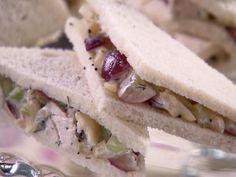 Chicken Poppy Seed Salad Sandwiches Recipe : Trisha Yearwood : Recipes : Food Network