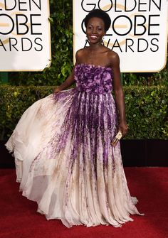 LUPITA! | 2015 Golden Globes Best Dressed | Vanity Fair
