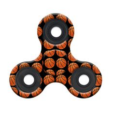 Spinner Squad Basketball Fidget Spinner! Voted #1 for fastest and longest spin!