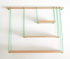 Out of Stock: Simple & Easy-to-Assemble 3-Shelf Wall Set