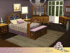 Emma's Simposium: 5 Bedroom Sets by Select TSR Artist #91 - Donated/Gifted!!!