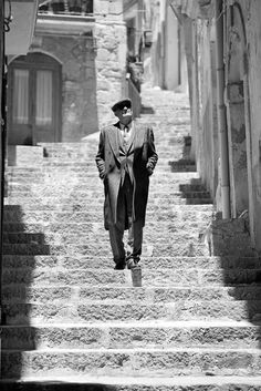 Ferdinando Scianna ITALY, Sicily, Caltagirone, fashion story for VOGUE France.