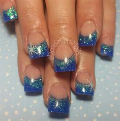 Icy Blue by dcgroves from Nail Art Gallery