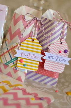 Queen & Co. Designer Tags - Whether you are wrapping a gift or embellishing a card, these new designer tags are the perfect last minute touch. Chevron, ...