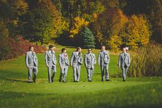 Horseshoe Valley Wedding in Fall