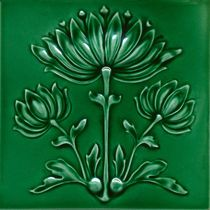 ceramic tile art | Wall-mounted tile / ceramic / Art Nouveau F 52.28