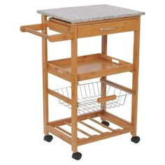 Winsome Wood Drop Leaf Kitchen Cart Furniture Pinterest