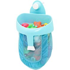 A bath toy scoop with super strong suction - because sometimes boat-loads of…