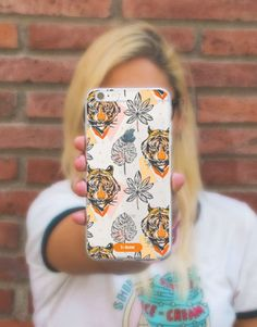 funda-movil-tigre-1 Phone Cases, See Through, Mobile Cases, Tigers, Phone Case