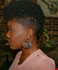Friday Fro's - 18 Of The Dopest Tapered Fros For Your Viewing Pleasure [Gallery]