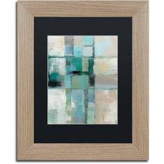 Trademark Fine Art Island Hues Crop II Canvas Art by Silvia Vassileva Black Matte, Birch Frame, Size: 11 x 14, Multicolor