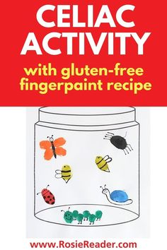 Wow! This fingerpaint craft has a gluten free fingerpaint recipe too! And for FREE! Activities For 5 Year Olds, Craft Activities For Kids, Celiac Disease In Children, Reading Adventure, Adhd Kids, Finger Painting, Crafts For Kids To Make, Valentines For Kids, Business For Kids