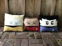 Cuddly Star Trek Pillows