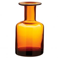 Glass Bottle Small Amber from Domayne Amber Bottles, Glass Bottles, White Wall Decor, Wine Decanter, Home Decor Items, Home Furniture, Home Goods, Styling Products, Indiana