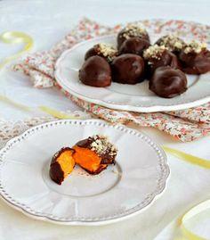 Trufas de batata doce {sem açúcar, vegan, sem glúten}