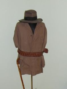 A 19th century African safari uniform belonging to a Romanian hunter, one of the only three still existing. From The Museum of Hunting, Posada, Romania.