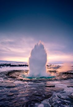 The Great Geyser, Hot spring, Iceland, by Wei Cao, on 500px.