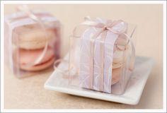 DIY Favor Inspiration: Macaron Favor Box | Wedding Paper Divas Blog
