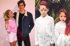 """17 Perfect """"Riverdale"""" Costumes That Totally Won Halloween - New Ideas Riverdale Halloween Costumes, Cute Couple Halloween Costumes, Costumes For Teens, Cute Halloween Costumes, Cool Costumes, Costume Ideas, Halloween Stuff, Halloween Ideas, Dynamic Duo Costumes"""