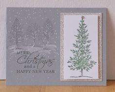 Lovely-As-A-Tree Christmas Card - Stampin' Up!