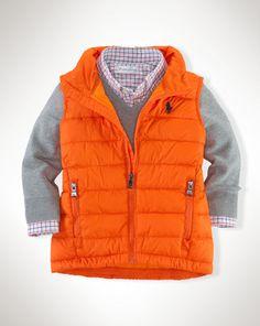Lightweight Puffer Vest - Baby Boy Outerwear & Jackets - RalphLauren.com