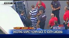 Police are flying #CharlestonShooting suspect Dylann Roof back to South Carolina. #greta