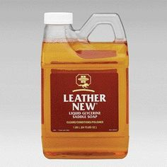 Farnam Leather New 1/2 Gal by Farnam. Save 21 Off!. $21.32. UNITED STATES. Farnam(R) Leather New(R) Easy-Polishing Glycerine Saddle Soap The original self-polishing saddle soap - use it after every ride. Makes leather look like new with a single application. Cleans, conditions, and polishes in one easy step. Cleans, softens, and renews leather - then dries to a long-lasting shine. Leather New protects the texture and color of leather, making it supple with a polished finish. Just...