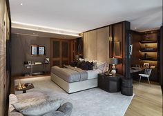 Office Interior Design is unquestionably important for your home. - Office Interior Design is unquestionably important for your home. Whether you pi… – Office Inte - Corporate Office Design, Office Interior Design, Interior Exterior, Hotel Interiors, Office Interiors, One Hyde Park, Suites, Luxurious Bedrooms, Home Bedroom
