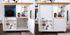Ikea Kallax Kitchen Island Hack by Jen Lou Meredith