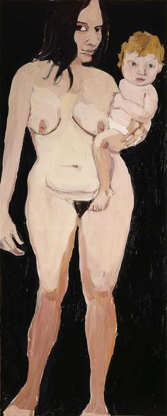 Chantal Joffe - Mother and Child I