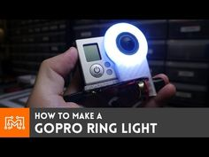 Check out how I made a ring light for a GoPro with a Neopixel ring, a Pro Trinket and a 3d printed diffusion ring! More info at http://www.iliketomakestuff.c...