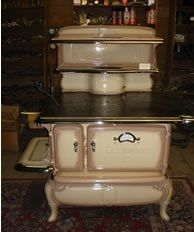 Wood Cooking Stove - This is not the one my family used growing up, but is very, very similar.